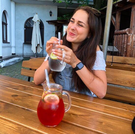 czech glass straws