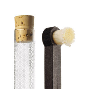 Rawtoothbrush a skleněné pouzdro