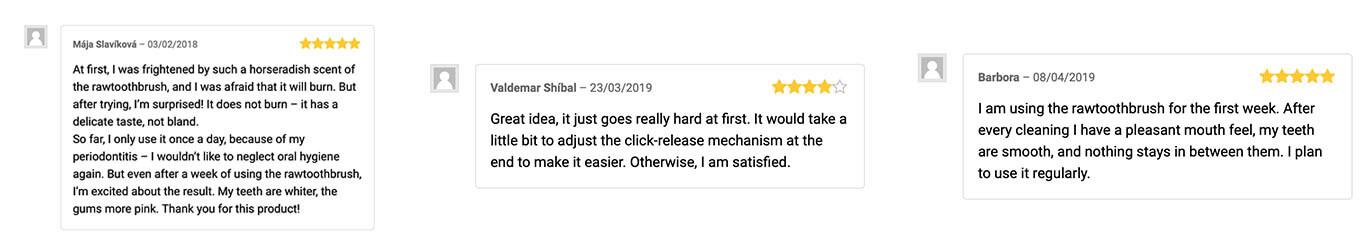 reviews of rawtoothbrush