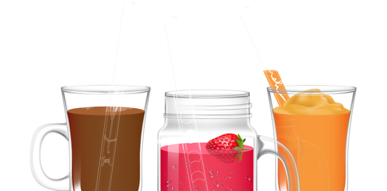 czech glass straws homepage image