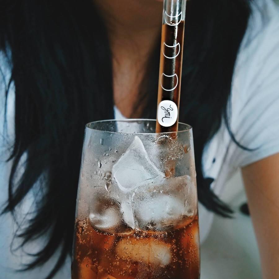 Czech glass straws by Yoni life comapny