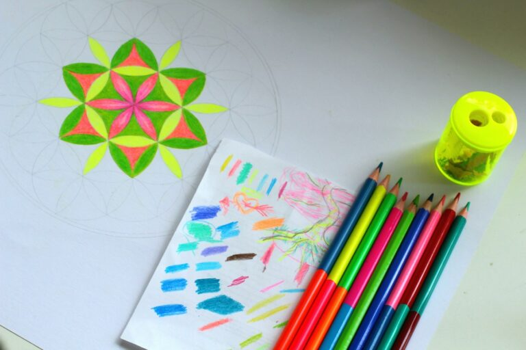 Flower of life drawing