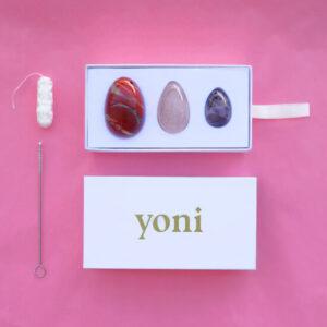 custom yoni egg set, put your stones together